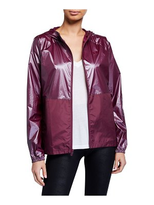 Under Armour Metallic Woven Front-Zip Jacket