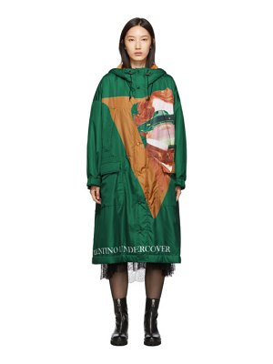 Undercover edition sherpa hood coat