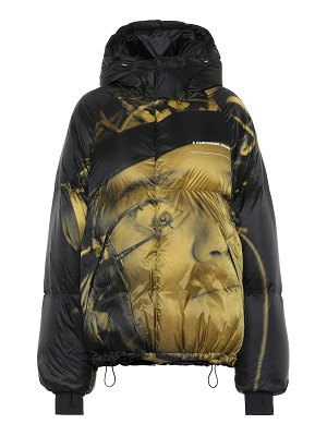 Undercover printed down jacket