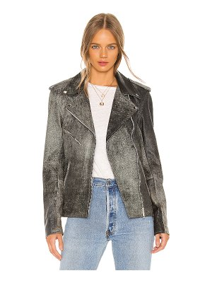 Understated Leather Ultimate oversized easy rider jacket