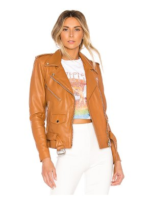 Understated Leather Ultimate x revolve lightweight easy rider jacket