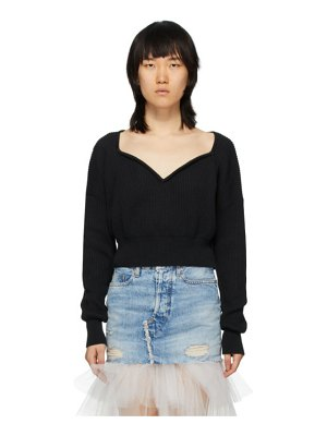 Unravel cashmere v-neck sweater