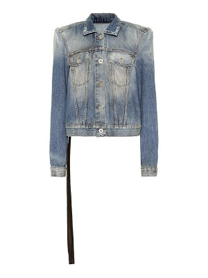 Unravel denim jacket