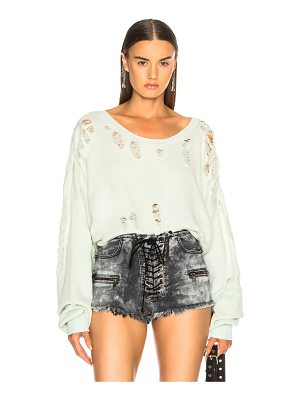 Unravel Distressed Oversized Sweater