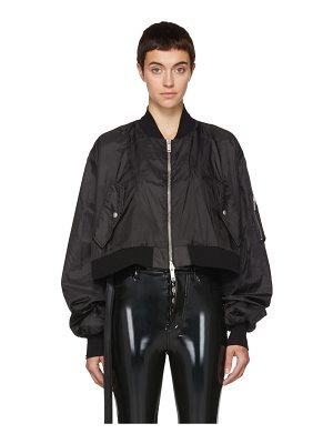 Unravel Ghost Reconstructed Chop Bomber Jacket