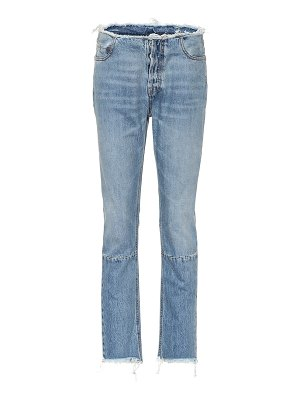Unravel high-rise slim jeans