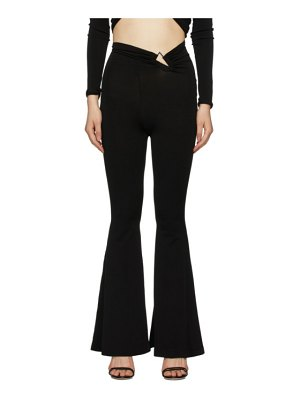 Unravel knit triangle lounge pants