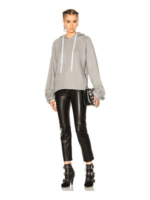 Unravel Oversized Cashmere Hoodie