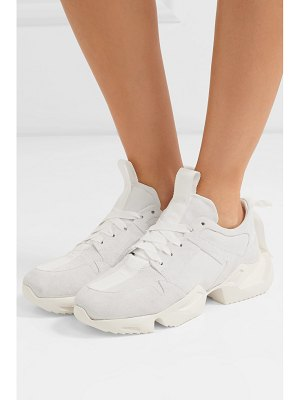 Unravel Project suede sneakers