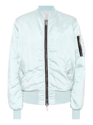 Unravel Satin bomber jacket