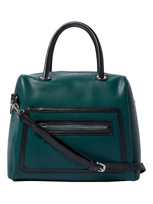 Urban Originals lattitude vegan leather satchel