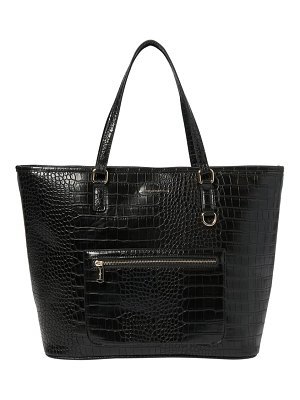 Urban Originals croc embossed vegan leather tote