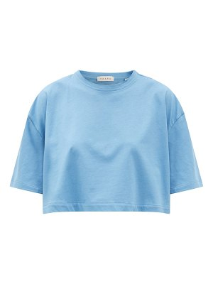 Vaara kelly cropped cotton-jersey t-shirt