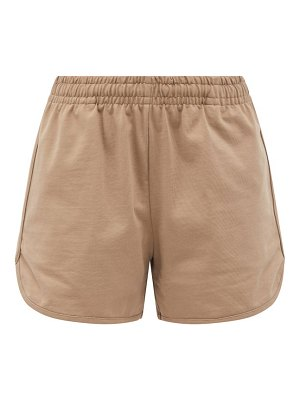 Vaara teller cotton-jersey shorts
