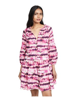 Valencia & Vine tie dye dress