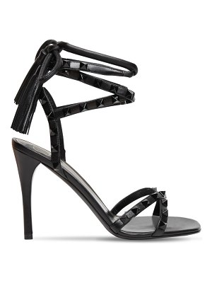 Valentino 100mm rockstud flair leather sandals