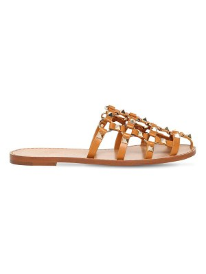 Valentino 10mm rockstud leather cage mules