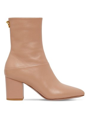Valentino 70mm ringstud leather ankle boots
