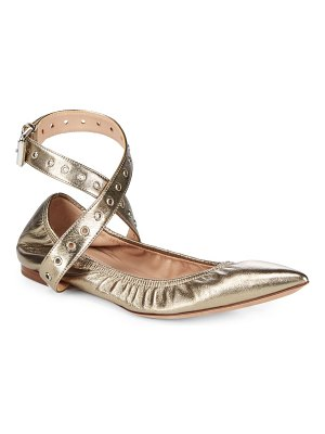 Valentino Ballerina Leather Flats