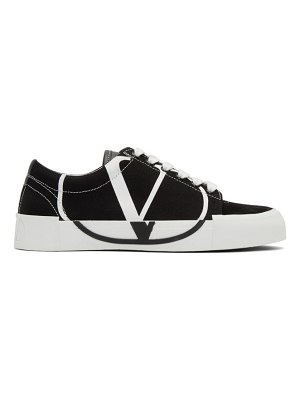 Valentino black and white tricks low-top sneakers