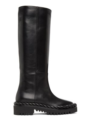 Valentino black  the rope boots