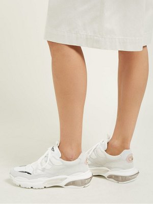 Valentino bounce low top leather trainers