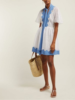 Valentino broderie anglaise cotton dress