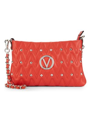 Valentino by Mario Valentino Vanille Studded Leather Shoulder Bag