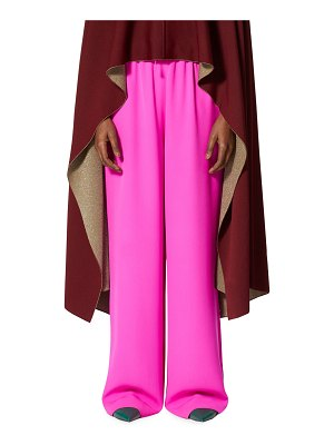 Valentino Cady Wide-Leg Pants