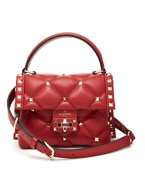 Valentino candystud mini quilted leather cross body bag