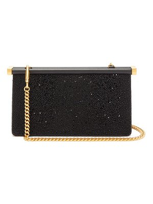 Valentino carry secrets bead-embellished clutch