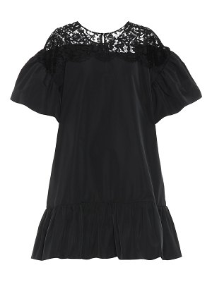 Valentino cotton-blend dress
