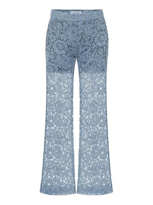 Valentino cotton-blend lace pants