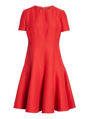 Valentino crepe a-line dress