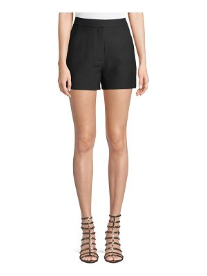 Valentino Crepe Couture Wool-Silk Shorts