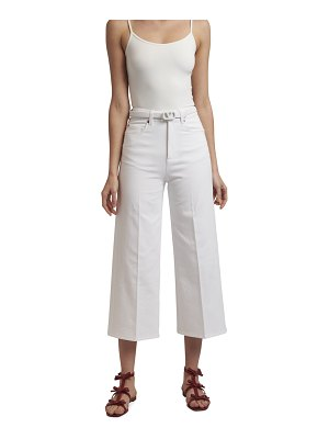 Valentino Cropped Wide-Leg Jeans