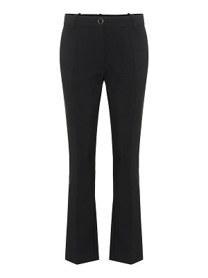 Valentino cropped wool-blend pants
