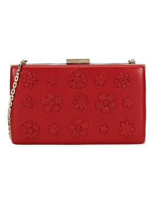 Valentino Floral Leather Clutch