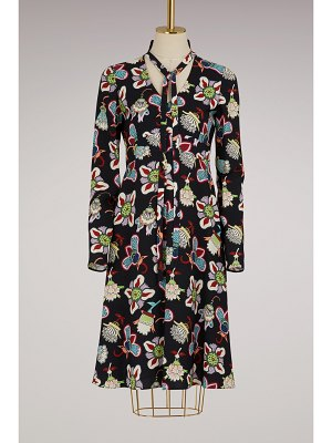 Valentino Flower Pop long sleeves dress