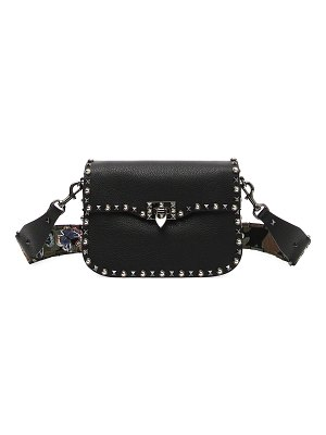 Valentino Guitar Rockstud Rolling Shoulder Bag