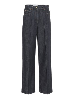 Valentino high-rise wide-leg jeans