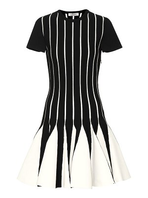 Valentino Knit fit-and-flare dress