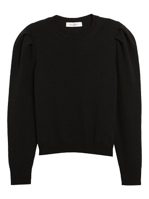 Valentino leg of mutton sleeve cashmere sweater
