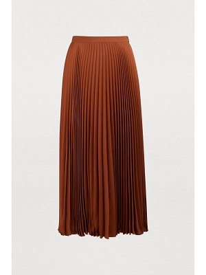 Valentino Long georgette silk skirt