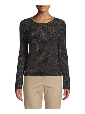 Valentino Long-Sleeve Wool Sweater