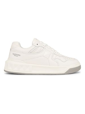 Valentino one stud sneakers