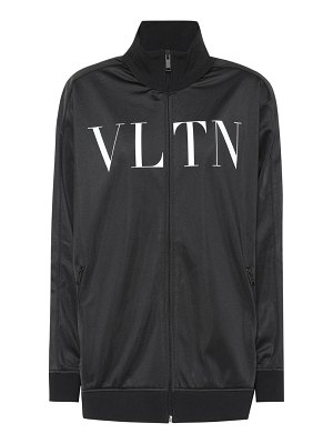 Valentino Printed jersey track jacket