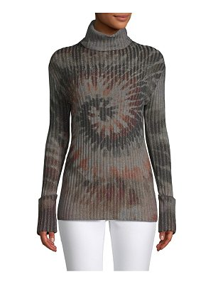 Valentino Printed Long-Sleeve Sweater