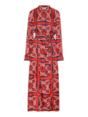 Valentino Printed silk dress