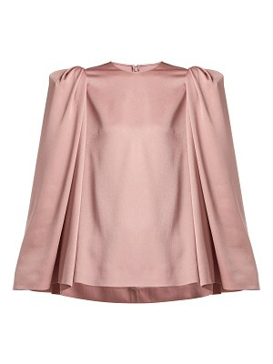 Valentino puff shoulder cady top